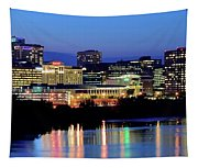 Early Evening In Hartford Tapestry