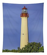 Early Light At Cape May Lighthouse Tapestry