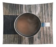 Early Morning Coffee  Tapestry