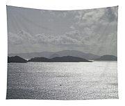 Early Morning Island View Tapestry