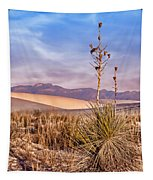 Early Morning Yucca - White Sands - New Mexico Tapestry