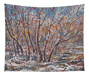 Early Snow. Tapestry