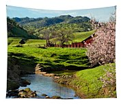 Early Spring In The Valley Tapestry