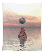 Earth Above The Sea Tapestry