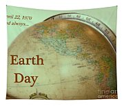 Earth Day Always Tapestry