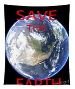 Save The Earth Tapestry