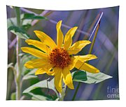 Earth Day Wild Flower  Tapestry