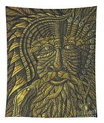 Earth Warrior Tapestry