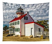 East Point Light -renovated Tapestry