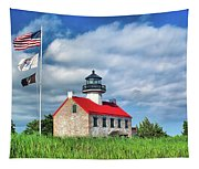 East Point Lighthouse Nj Tapestry