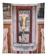 East Side Pay Phone Tapestry