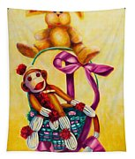 Easter Made Of Sockies Tapestry