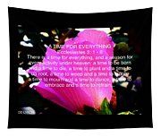 Ecclesiastes 3 A Time For Everything Tapestry