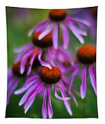 Echinacea Crowd Tapestry
