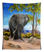 Eddy Elephant Tapestry
