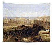 Edinburgh From The Castle Tapestry