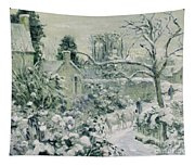 Effect Of Snow With Cows At Montfoucault Tapestry