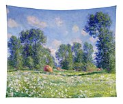 Effect Of Spring At Giverny Tapestry