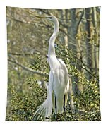 Egret 1 Tapestry