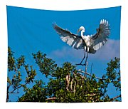 Egret Landing Tapestry
