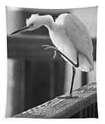 Egret Tai Chi Tapestry
