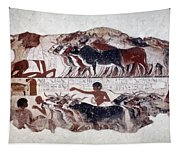 Egypt: Tomb Painting Tapestry