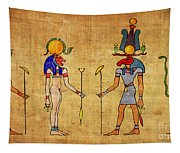 Egyptian Gods And Goddness Tapestry