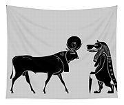 Egyptian Gods Tapestry