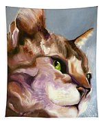 Egyptian Mau Princess Tapestry