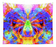 Egyptian Scarab Energies Tapestry