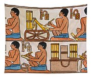 Egyptian Scribes Tapestry