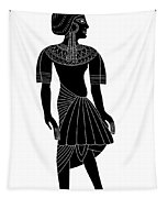 Egyptian Woman Tapestry