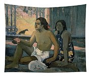 Eiaha Ohipa Or Tahitians In A Room Tapestry