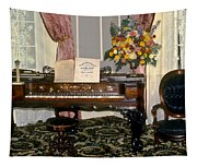 Eighteenth Century Piano And Parlor Tapestry