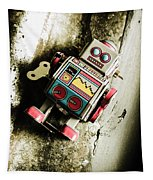 Eighties Cybernetic Droid  Tapestry