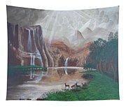 El Capitan Falls Tapestry