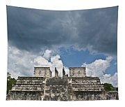 El Templo De Las Columnas  1 Tapestry