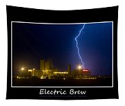Electric Brew Poster Tapestry