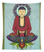 Electric Buddha Tapestry