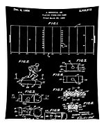 Electric Football Patent 1955 Black Tapestry