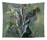 Electro Vine Tapestry