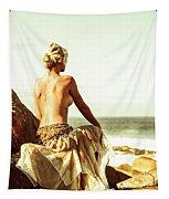 Elegant Classical Beauty  Tapestry
