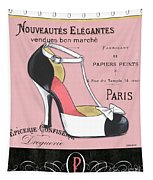 Elegant French Shoes 1 Tapestry