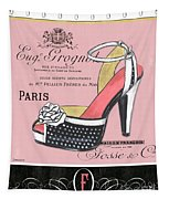 Elegant French Shoes 2 Tapestry