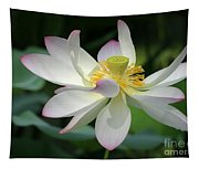 Elegant Lotus Tapestry