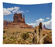 Elephant Butte - Monument Valley - Arizona Tapestry