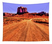 Elephant Butte Monument Valley Navajo Tribal Park Tapestry