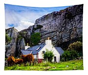 Elgol Cottage, Skye Tapestry