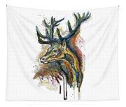 Elk Head Tapestry