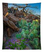 Elk Mountain Flowers Tapestry